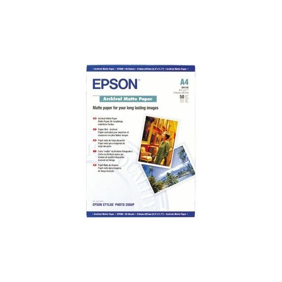Epson A3+ Archival Matte Paper 192gr, 50 sheets