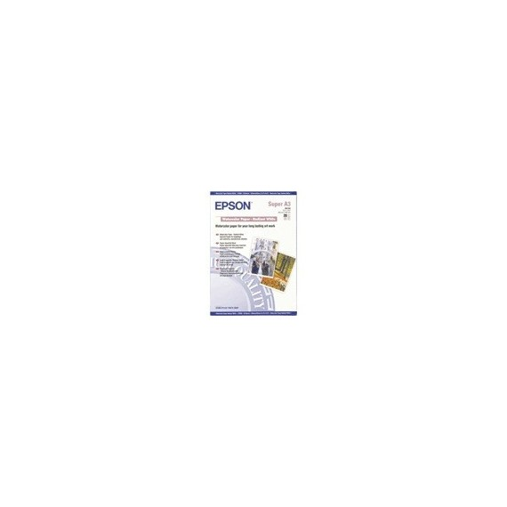 Epson WaterColor Paper Radiant White 190g, A3+, 20 sheets
