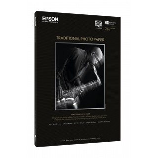 "EPSON 64"" x 15m Traditional Photo Paper"