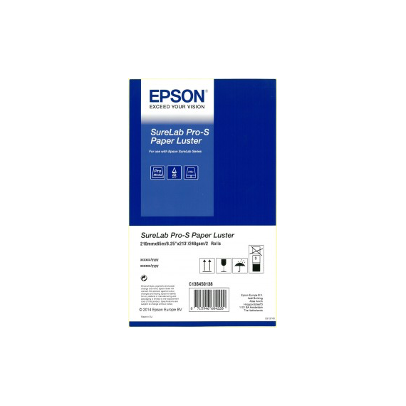EPSON SureLab Pro-S Luster Paper 248, A4, 2 ruller