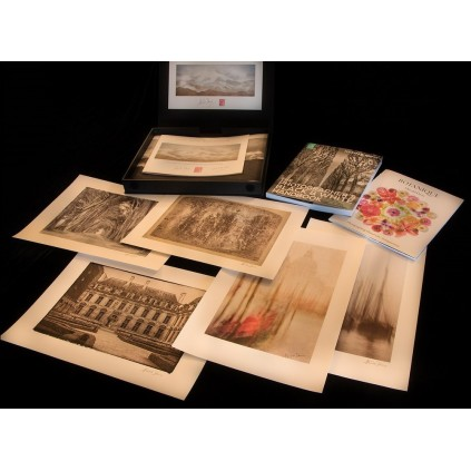 """Moab Entrada Textured 300, 44""""x15,24m, rull, teksturert kunstfotopapir"""