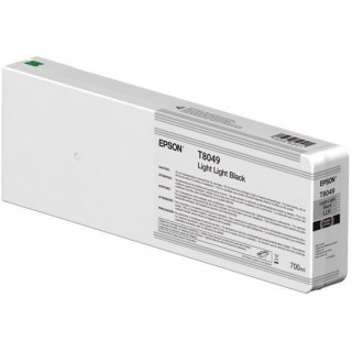 Epson Light Light Black, 700ml, P6000/P7000/P8000/P9000, T8049