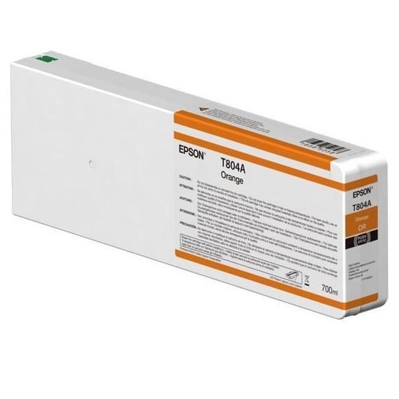 Epson Orange, 700ml, P7000/P9000, T804A