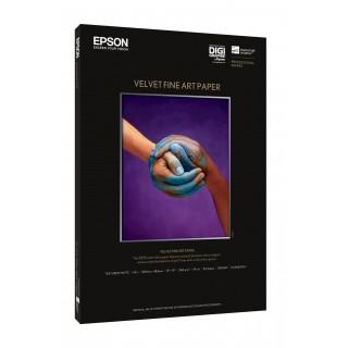 EPSON A2 Velvet Fine Art Paper 25 stk.
