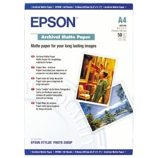 EPSON A3 Archival Matte Papir