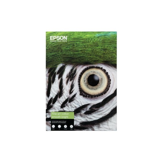 Epson A4 Cotton Smooth Natural