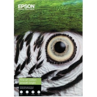 Epson A4 Cotton Textured Bright