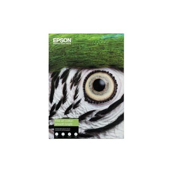 Epson A4 Cotton Textured Natural