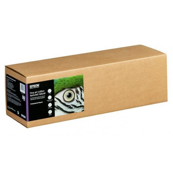 """Epson Cotton Textured Natural 300 17""""x15m rull"""