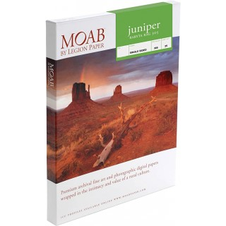 "Moab Juniper Baryta 305, 24""x36"", 25 ark, kunstfotopapir"