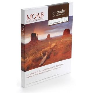 20% på første eske! Moab Entrada Natural 300, A3+, 25 ark, tosidig, kunstfotopapir