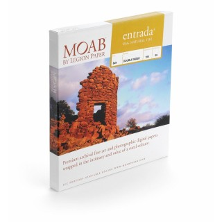 Moab Entrada Natural 190, 10x15cm, 50 ark, tosidig, varmt kunstfotopapir