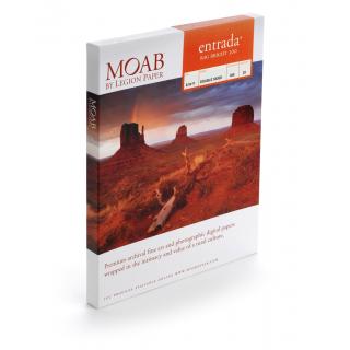 "20% på første eske! Moab Entrada Bright 300, 17""x25"" 50 ark, tosidig, kunstfotopapir"