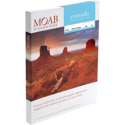 Moab Entrada Textured 300, A4, 25 ark, kunstfotopapir