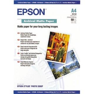Epson Archival Matte Paper 192, A4, 50 ark