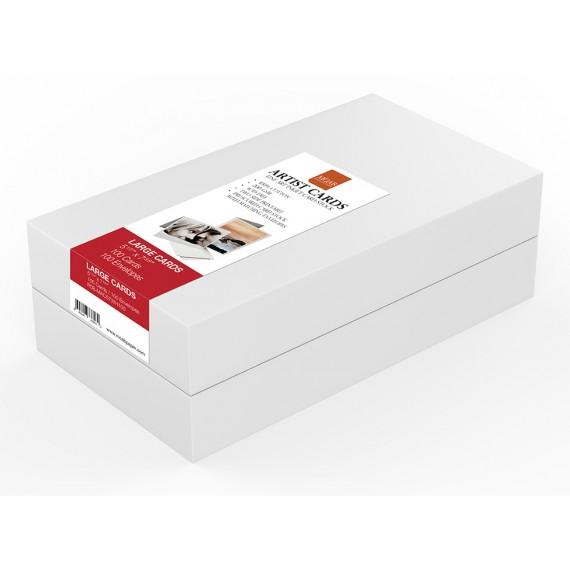 """Moab Artist Card 200 gr, 14cm x 18,8cm (5,5"""" x 7,5""""), falset, tosidig, 24 ark med konvolutter"""