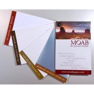 Moab Swatchbook- Samplebook av Moab Paper sine papirkvaliteter