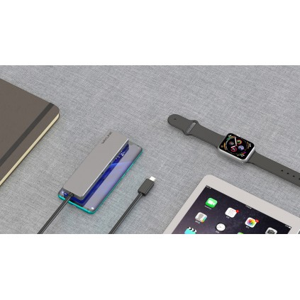 WAVLINK USB-C tavel mini dock med KORTLESER+HDMI+USB3.0
