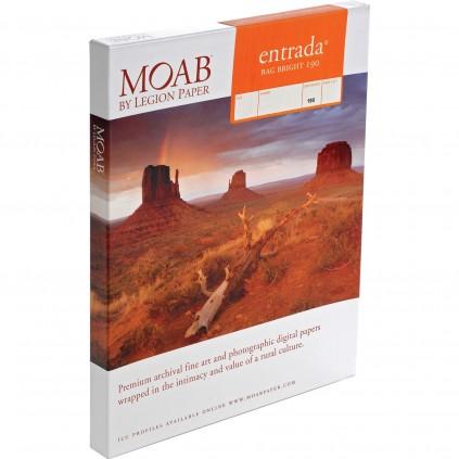 Moab Entrada Bright 190, A4, 25 ark, tosidig, kunstfotopapir