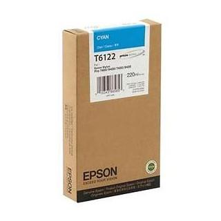 EPSON CYAN, 220ml, StylusPro 74xx/78xx/94xx/98xx, T6122