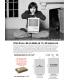 """Moab Entrada Bright 300, 17""""x25"""", 50 ark, tosidig, kritthvitt kunstfotopapir"""