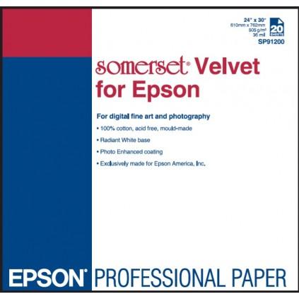 """Epson Somerset Velvet 255, 24""""x15m, rull"""