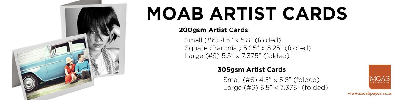Moab Artist Card